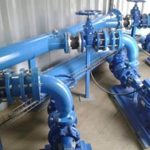 Planta de tratamiento de aguas en SUMBE