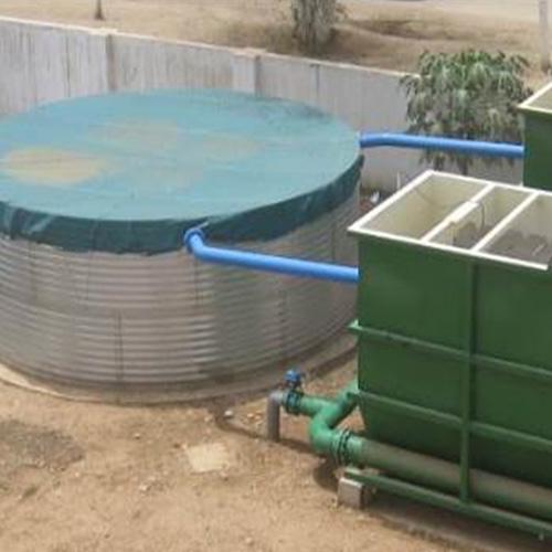 Usine de traitement d'eau à Sumbe