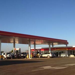 Bombas de combustible – Gasolinera Sonangol